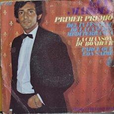 Discos de vinilo: GUY MARDEL - PRIMER PREMIO DEL IX FESTIVAL DE LA CANCION MEDITERRANEA - CHANSON.. - SINGLE 1967. Lote 265490644