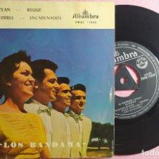 """Discos de vinilo: 7"""" MARY SANCHEZ Y LOS BANDAMA EL GAVILAN +3 ALHAMBRA EMGE 71043 - SPAIN PRESS 1959 (EX-/VG++). Lote 262913370"""