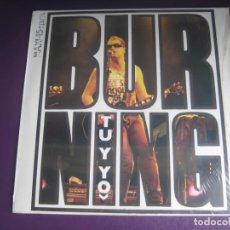 Discos de vinilo: BURNING – TU Y YO - MAXI SINGLE VICTORIA 1985 PRECINTADO - ROCK N ROLL CHELI. Lote 265516819