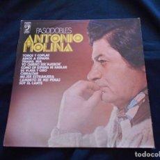 Discos de vinilo: LP ANTONIO MOLINA // PÀSODOBLES. Lote 265524754