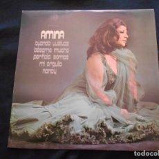 Discos de vinilo: LP AMINA // CUANDO VUELVAS. Lote 265526134
