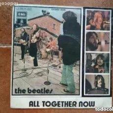 Discos de vinil: BEATLES - ALL TOGETHER NOW (SG) 1972. Lote 265535939