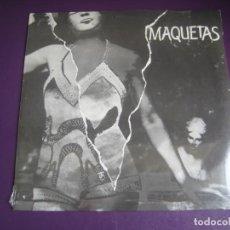 Disques de vinyle: MAQUETAS - LP MR 1983 PRECINTADO - TOS - MODELOS - AVIADOR DRO - PISTONES - ETC - MOVIDA POP 80'S. Lote 265539489
