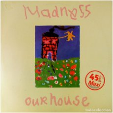 Discos de vinilo: MADNESS - OUR HOUSE / WALKING WITH MR. WHEEZE - MAXI SPAIN 1982 - VICTORIA - VIC-50. Lote 265541019