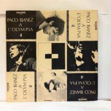 Discos de vinilo: PACO IBAÑEZ - PACO IBAÑEZ A L'OLYMPIA. VINILO (DOBLE LP, ALBUM). MOSHÉ-NAÏM / EDICIÓN FRANCESA. CCM2. Lote 265546224