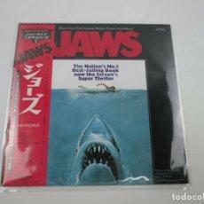 Discos de vinilo: VINILO EDICIÓN JAPONESA DEL LP DE LA BSO JAWS ( TIBURÓN ). Lote 265547119