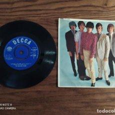 Discos de vinilo: DISCO EP DE VINILO THE ROLLING STONES (1964) FIVE BY FIVE, DFE 8590 DECCA. SINGLE. Lote 265557674