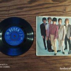 Discos de vinilo: DISCO EP DE VINILO THE ROLLING STONES (1964) FIVE BY FIVE, DFE 8590 DECCA. SINGLE. Lote 265558039