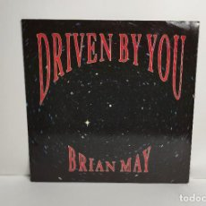 Discos de vinilo: BRIAN MAY (QUEEN) - DRIVEN BY YOU MAXI SINGLE 1991 UK. Lote 265560459
