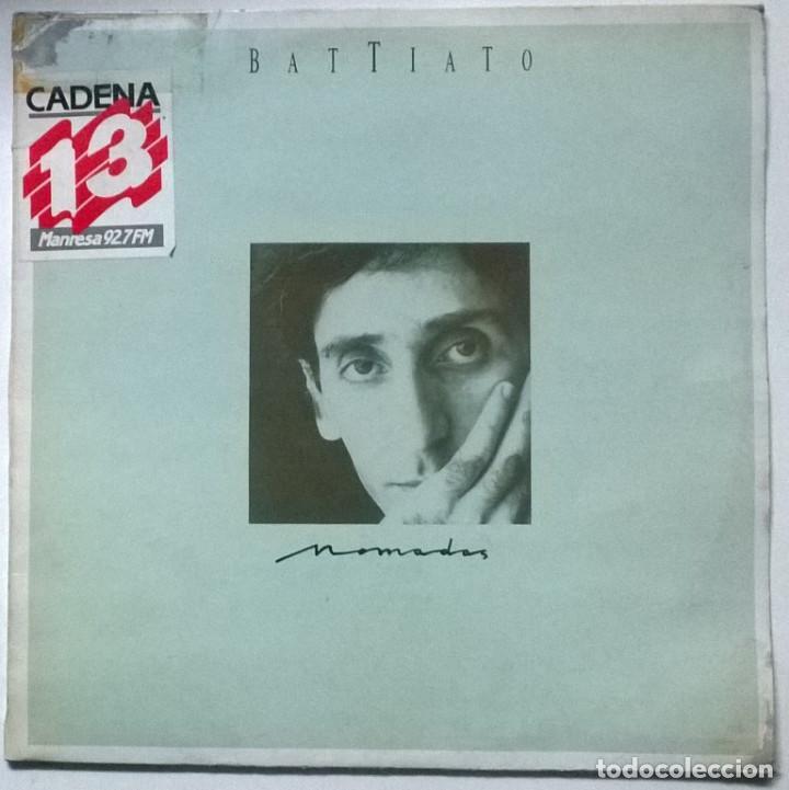 FRANCO BATTIATO. NOMADAS. EMI-ODEON, SPAIN 1986 LP + ENCARTE (Música - Discos - LP Vinilo - Canción Francesa e Italiana)