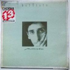 Disques de vinyle: FRANCO BATTIATO. NOMADAS. EMI-ODEON, SPAIN 1986 LP + ENCARTE. Lote 265581509