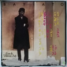 Disques de vinyle: FRANCO BATTIATO. ECOS DE DANZAS SUFI. EMI, SPAIN 1985 LP. Lote 265597299