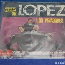 Discos de vinilo: DISCO 7 PULGADAS EP LOS PAYADORES COMO AYER BUEN ESTADO GENERAL. Lote 265657429