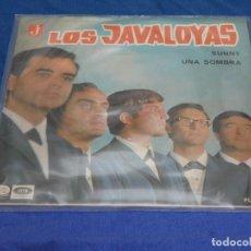 Discos de vinilo: DISCO 7 PULGADAS SINGLE LOS JAVALOYAS SUNNY 1966 BUEN ESTADO GENERAL. Lote 265658819