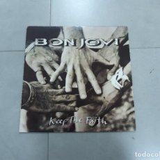 Discos de vinilo: VINILO. BON JOVI, LP KEEP THE FAITH. MERCURY, 1992. Lote 265660709