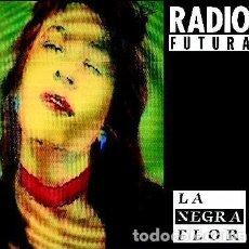 Discos de vinilo: RADIO FUTURA, LA NEGRA FLOR / PASEO CON LA NEGRA FLOR, MAXI-SINGLE SPAIN 1987. Lote 265701199