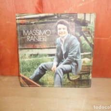 Disques de vinyle: MASSIMO RANIERI - ROSA ROJA - SINGLE - DISPONGO DE MAS DISCOS DE VINILO. Lote 265701464