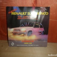 Discos de vinilo: NUEVOS RENAULT SUPERCINCO EN CONCIERTO - DOMINOE - SINGLE - DISPONGO DE MAS DISCOS DE VINILO. Lote 265707094