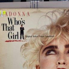 Discos de vinil: VIN1550 MADONNA - WHO'S THAT GIRL VINILO SEGUNDA MANO. Lote 265717834