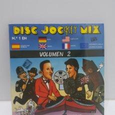 Disques de vinyle: VINILO DISC JOCKEY MIX VOLUMEN 2 NUEVO SIN ABRIR. Lote 265747274