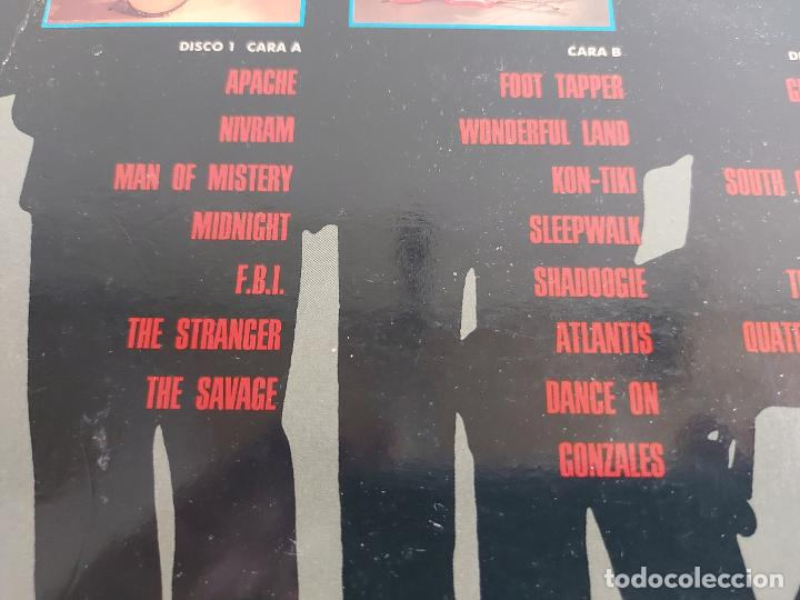 Discos de vinilo: THE SHADOWS COLLECTION / DOBLE LP - EMI-1991 / MBC. ***/*** - Foto 3 - 265764189