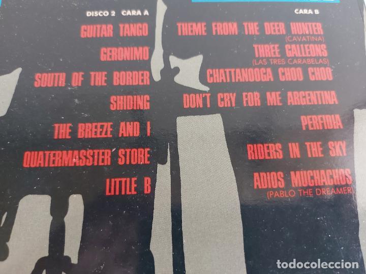 Discos de vinilo: THE SHADOWS COLLECTION / DOBLE LP - EMI-1991 / MBC. ***/*** - Foto 4 - 265764189