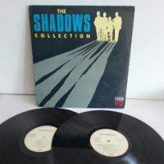 Discos de vinilo: THE SHADOWS COLLECTION / DOBLE LP - EMI-1991 / MBC. ***/***. Lote 265764189