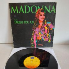 Discos de vinilo: MADONNA / DRESS YOU UP / MAXI SG - SIRE RECORDS-1985 / MBC. ***/***. Lote 265765544