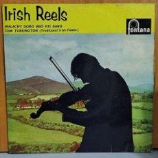 Disques de vinyle: IRISH REELS MALACHY DORIS AND HIS BAND WITH TOM TURKINGTON –. Lote 265775124