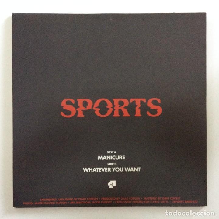 Discos de vinilo: Sports (12) – Manicure / Whatever You Want UK,2017 - Foto 2 - 265797264