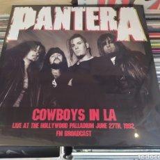 Discos de vinilo: PANTERA–COWBOYS IN LA: LIVE AT THE HOLLYWOOD PALLADIUM JUNE 27TH, 1992 LP VINILO NUEVO PRECINTADO. Lote 265802579