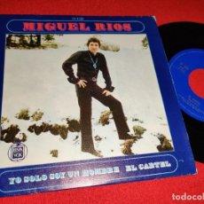 Dischi in vinile: MIGUEL RIOS YO SOLO SOY UN HOMBRE/EL CARTEL 7 SINGLE 1969 HISPAVOX GRANADA. Lote 265807139