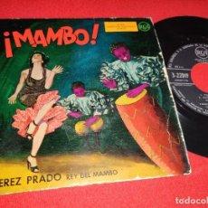 Discos de vinil: PEREZ PRADO ORQUESTA MAMBO. VIDA VIDA VIDA/MAMBO DEL FUTBOL/LA MACARENA +1 EP 195? SPAIN LATIN. Lote 265808809