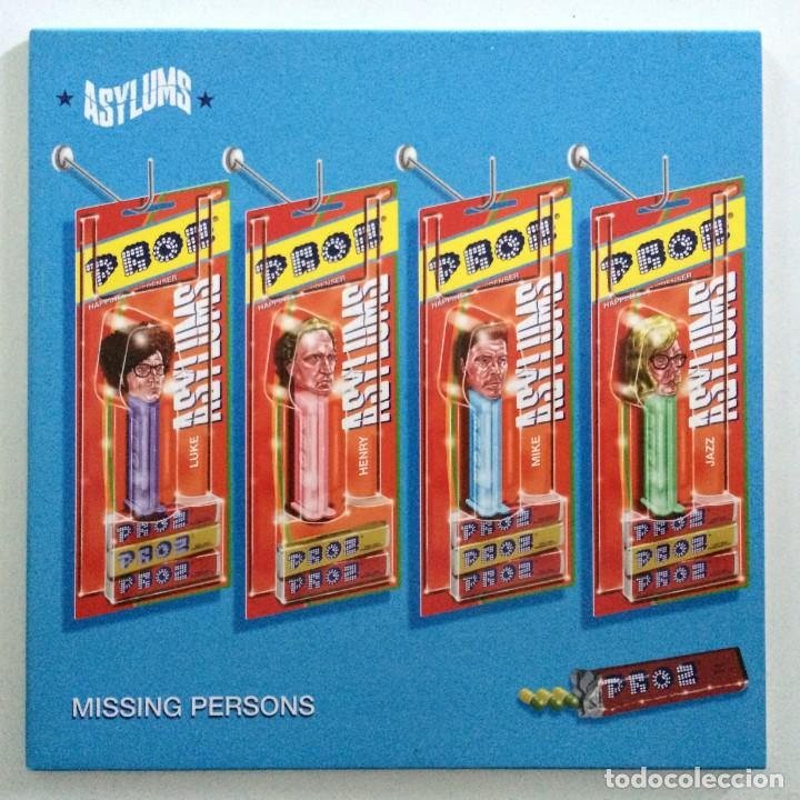 ASYLUMS – MISSING PERSONS / JOY IN A SMALL WAGE UK,2015 (Música - Discos - Singles Vinilo - Pop - Rock Internacional de los 90 a la actualidad)