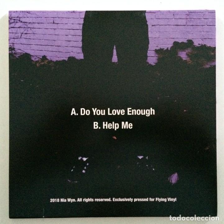 Discos de vinilo: Nia Wyn - Do You Love Enough / Help Me UK,2018 - Foto 2 - 265812344
