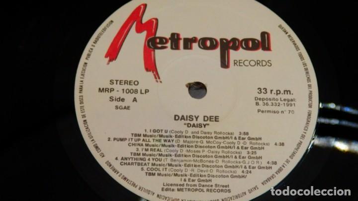 Discos de vinilo: DAISY DEE * LP Vinilo * DAISY * SPAIN * ULTRARARE * NUEVO * Metropol - Foto 4 - 265834629