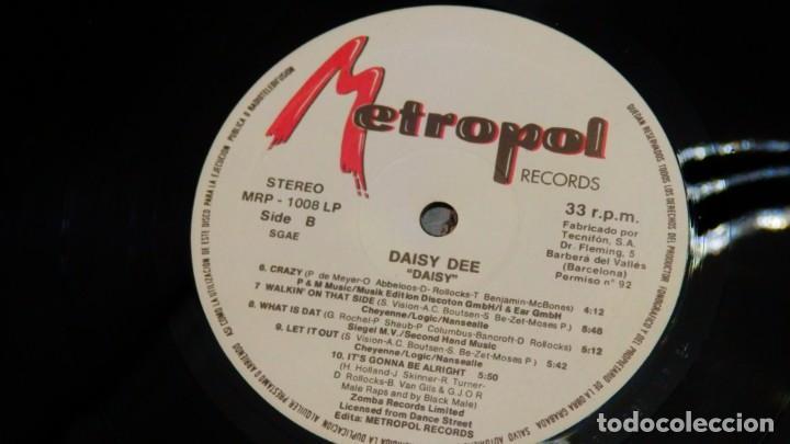 Discos de vinilo: DAISY DEE * LP Vinilo * DAISY * SPAIN * ULTRARARE * NUEVO * Metropol - Foto 5 - 265834629