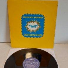 Discos de vinilo: ROLLING HITS / SATISFACTION / MAXI SG - MERCURY-1981 / MBC. ***/***. Lote 265835934