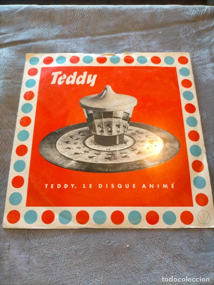 DISCO VINILO SINGLE TEDDY, LE DISQUE ANIMÉ (Música - Discos - Singles Vinilo - Música Infantil)