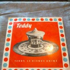 Discos de vinilo: DISCO VINILO SINGLE TEDDY, LE DISQUE ANIMÉ. Lote 265843699