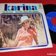 Dischi in vinile: KARINA LA FIESTA/LAS FLECHAS DEL AMOR 7 1968 HISPAVOX SPAIN ESPAÑA. Lote 265846064