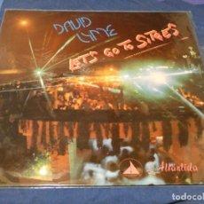 Discos de vinilo: MUSICA ELECTRONICA MAXI SINGLE DAVID LYME LET´S GO TO SITGES. Lote 265857234