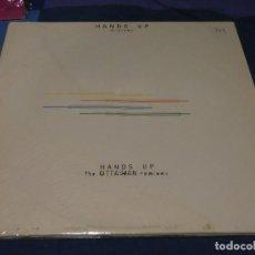 Discos de vinilo: MUSICA ELECTRONICA DOBLE MAXISINGLE DJ PROMO HANDS UP OTTAWAN BUEN ESTADO. Lote 265857754