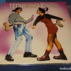 Discos de vinilo: MUSICA ELECTRONICA SOLO EL MAXI DE TECHNOMAKINITA BASTANTE USO, ACEPTABLE. Lote 265858664