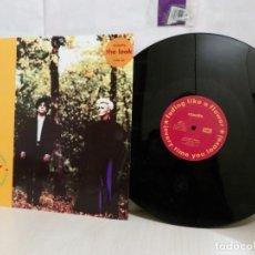 Discos de vinilo: ROXETTE --FADING LIKE A FLOWER--EMI SVENSKA AB--1991-. Lote 265888633