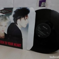 Discos de vinilo: ROXETTE --LISTEN TO YOUR HEART--1989--EMI SVENSKA AB-. Lote 265893653