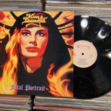 Discos de vinilo: KING DIAMOND FATAL PORTRAIT LP DISCO DE VINILO REEDICIÓN DESCATALOGADO. Lote 265909993