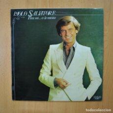 Disques de vinyle: PAOLO SALVATORE - PARA MI... ES LA MUSICA - LP. Lote 265914733