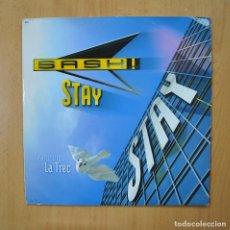 Disques de vinyle: SASH / LA TREC - STAY - MAXI. Lote 265915238