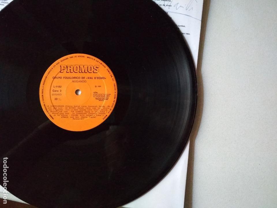 Discos de vinilo: VAL D,ECHO NUGANDO 1992 GRUPO FOLKLORICO,HUESCA - Foto 4 - 265916358